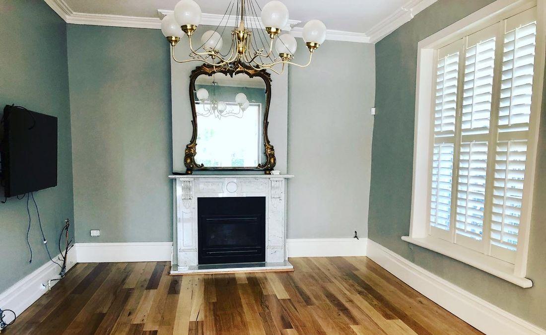 Reclaimed Blackbutt timber floors